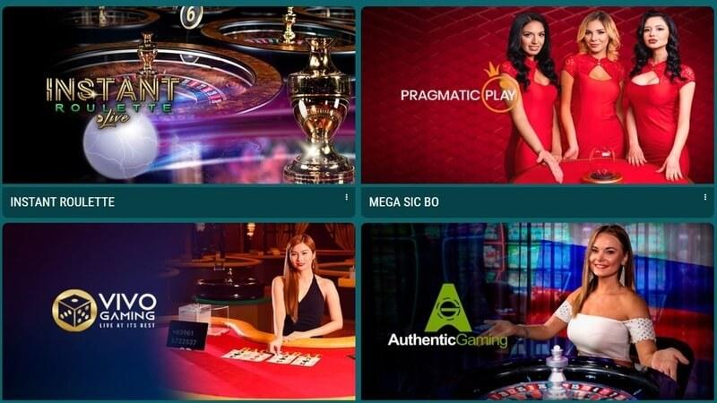 Casino Spiele von 22bet