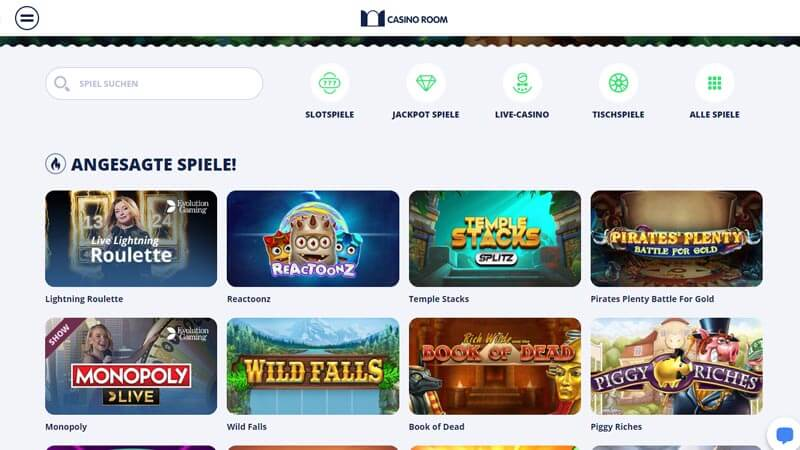 Casino Room Test