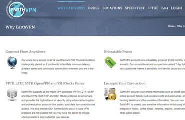 EarthVPN Test