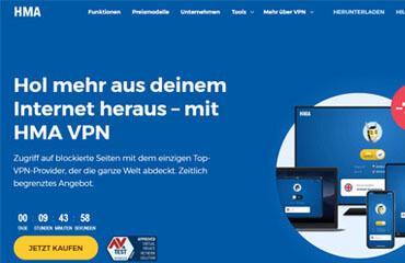 HMA VPN test