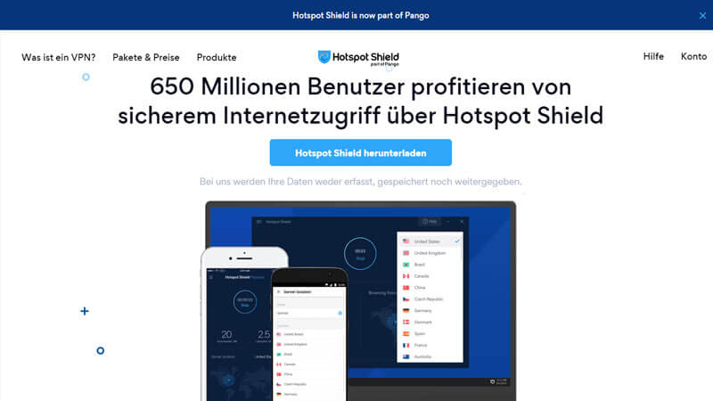 HotspotShield VPN Testbericht