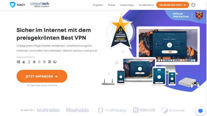 IvacyVPN Testbericht