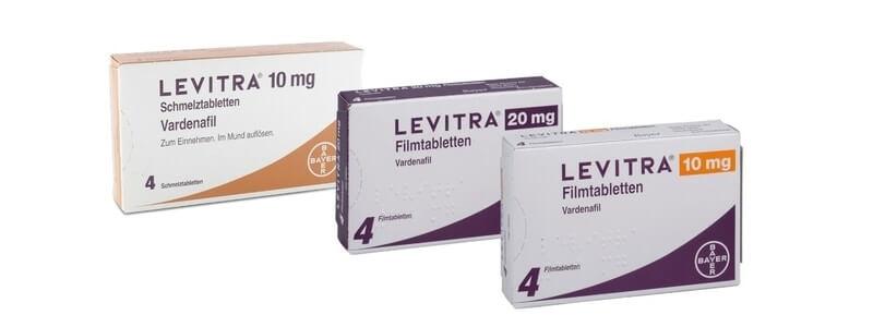 Levitra-Dosierung