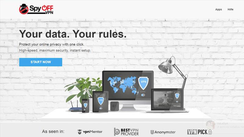 SpyOFF VPN Testbericht