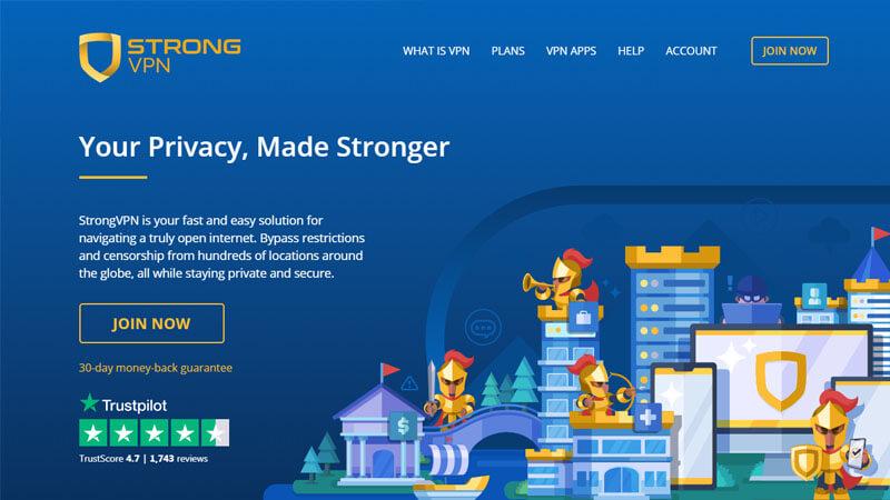 Strong VPN Testbericht