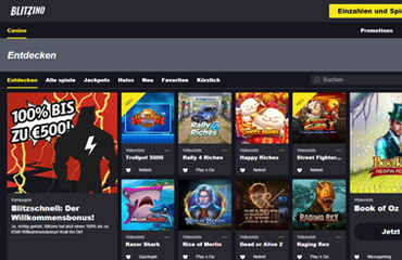 Blitzino Casino test online