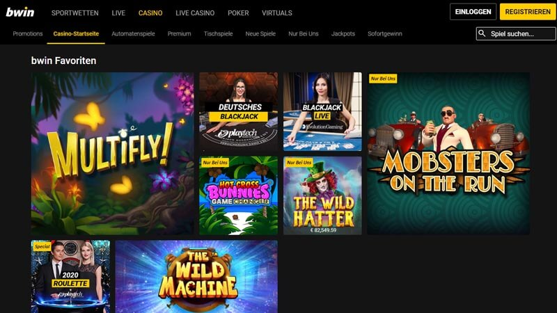 bwin Casino Test