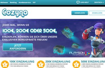 Cozyno Casino test online