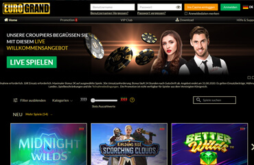 EuroGrand casino test online