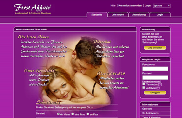 First Affair test online