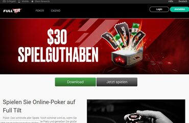 Full Tilt Poker test online