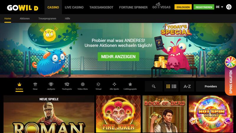 Gowild Casino Erfahrungen