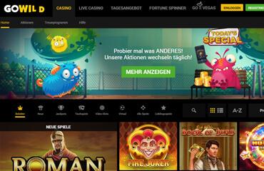 GoWild Casino test online