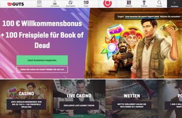Guts Casino test online