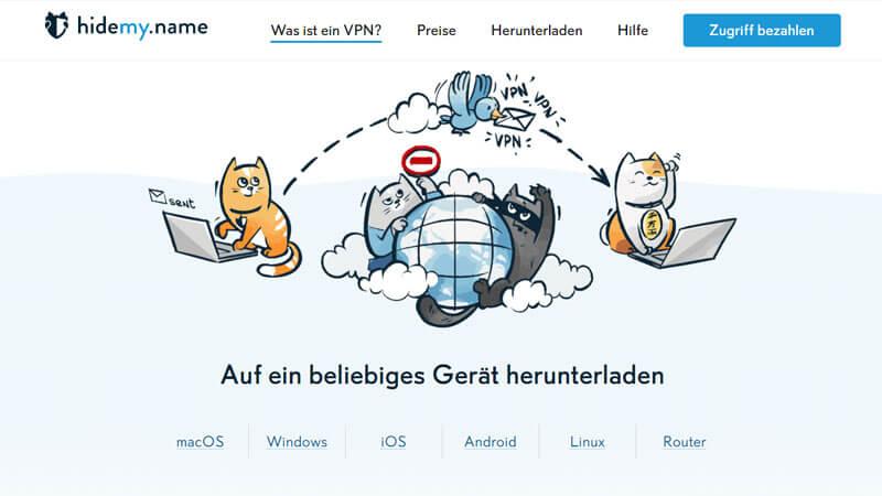 hidemy.name VPN testbericht