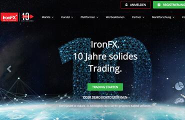 IronFX test online