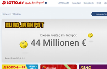 LOTTO.de test online