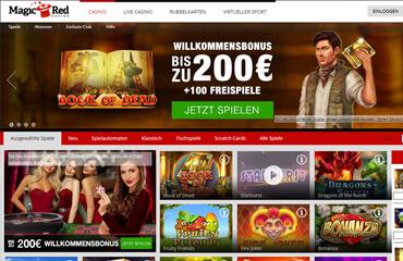 Magic Red Casino test online