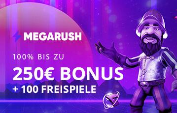 megarush bonus code