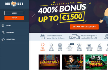 mr.Bet Casino test online