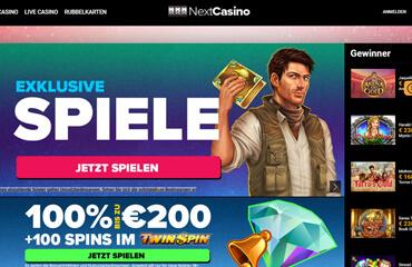 Next Casino test online
