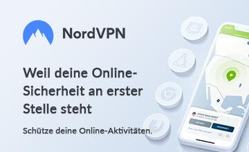 NordVPN - Jetzt zum VPN Anbieter des Monats!