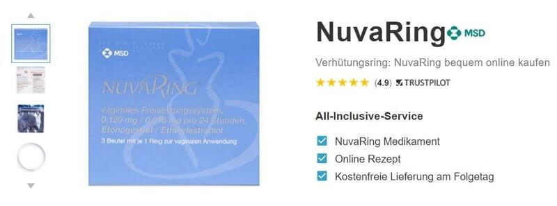 NuvaRing online bestellen
