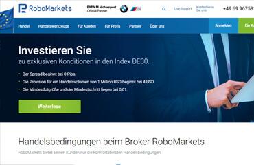 RoboMarkets test online