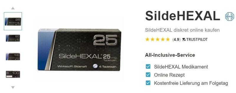 Wo SildeHexal online kaufen