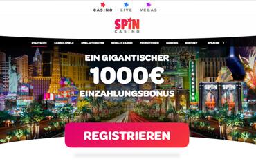 Spin Casino test online