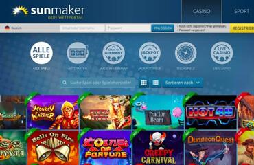 Sunmaker Casino test online
