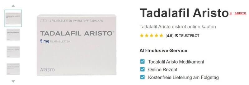 Tadalafil Aristo online bestellen