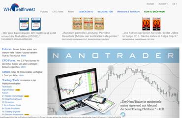 WH Selfinvest test online