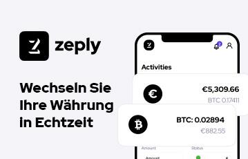 Zeply Bitcoin Börse